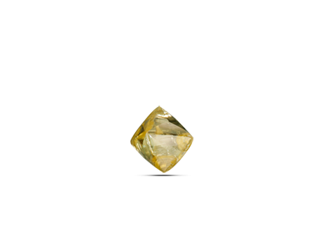 Yellow Diamond Uncut