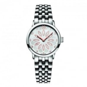 88 Rue Du Rhone Ladies Double 8 Origin 29mm Mother of Pearl Flower Dial Bracelet Watch