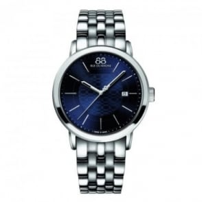 88 Rue Du Rhone Men's Double 8 Origin 42mm Blue Dial Bracelet Watch