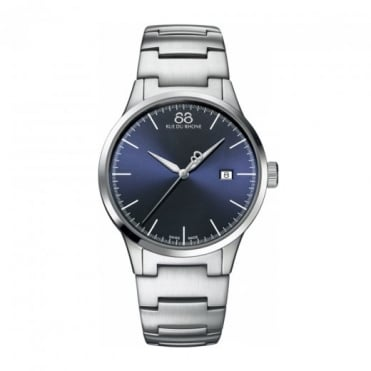 Men's Rive Blue Dial Bracelet Watch