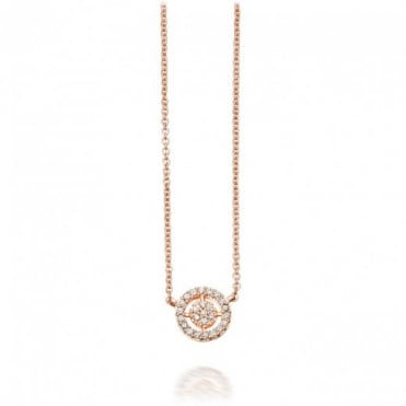 Astley Clarke Jewellery 14ct Yellow, White or Rose Gold Mini Aura Diamond Pendant