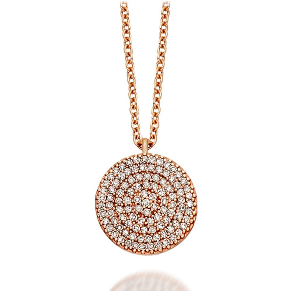 large pendant collections goldcross necklaces cross with carat plated necklace gold products