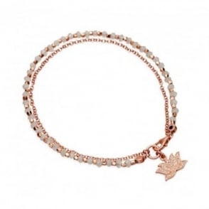 Astley Clarke Jewellery Astley Clarke Lotus Rainbow Moonstone & Diamond Biography Bracelet