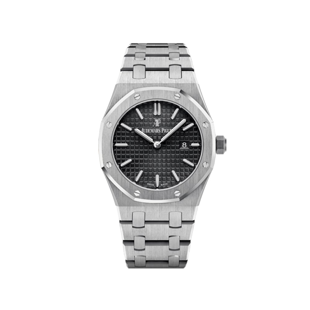 audemars piguet royal oak black at o r leeds