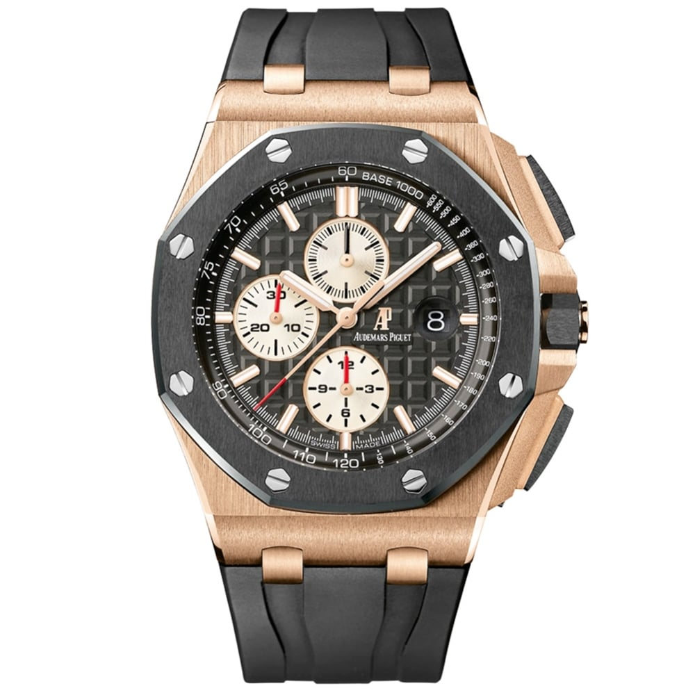 audemars piguet royal oak offshore 44mm rose gold watch at o r leeds