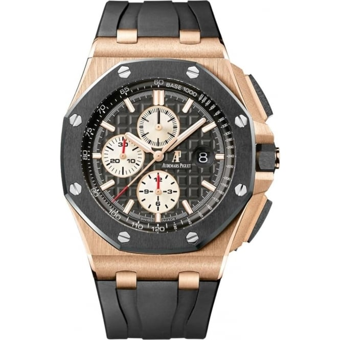 Audemars piguet royal oak offshore 44mm rose gold watch at o r leeds for Royal oak offshore ceramic