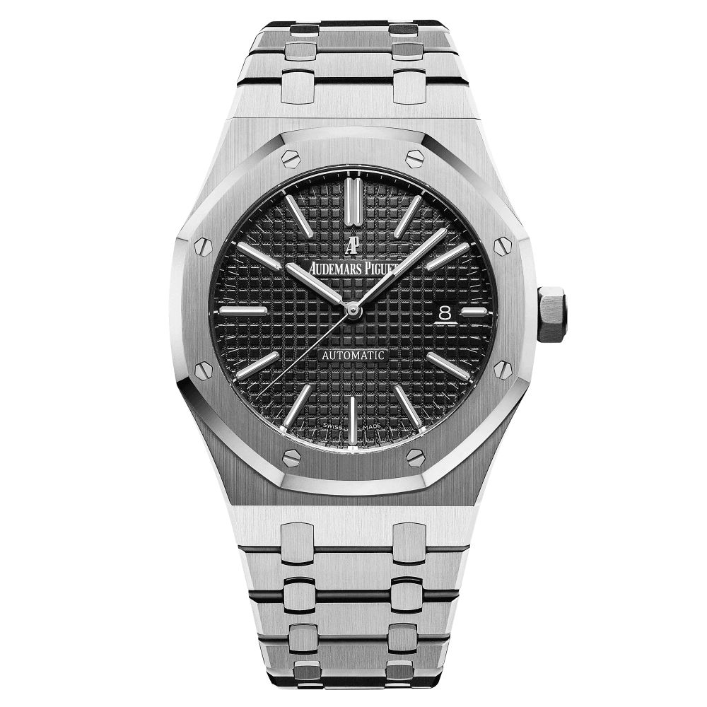 Audemars Piguet Royal Oak 41mm Automatic Black Dial Bracelet Watch