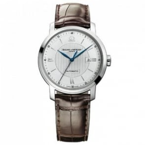 Baume & Mercier Classima Automatic Silver Dial Strap Watch