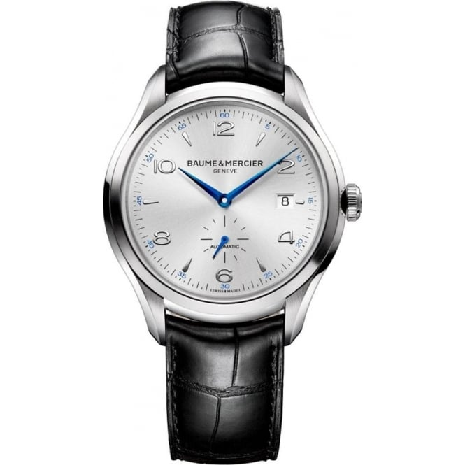 Baume & Mercier Clifton Automatic Silver Dial Strap Watch