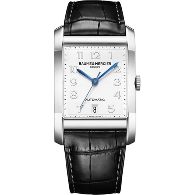 Baume & Mercier Hampton Automatic White Dial Strap Watch