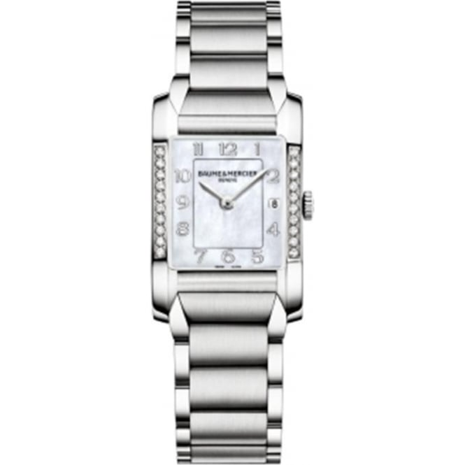 Baume & Mercier Hampton Diamond Bezel / Mother of Pearl Dial Bracelet Watch