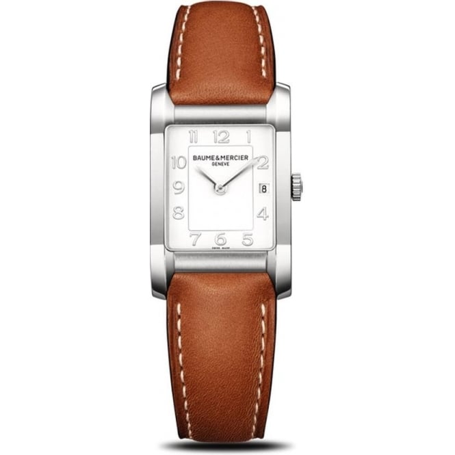 Baume & Mercier Hampton White Dial Strap Watch