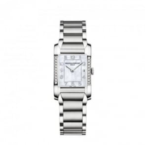Baume & Mercier Ladies Hampton Diamond Bezel / Mother of Pearl Dial Bracelet Watch