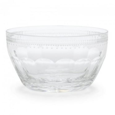Ralph Lauren Dagny Hand Cut Crystal Nut Bowl