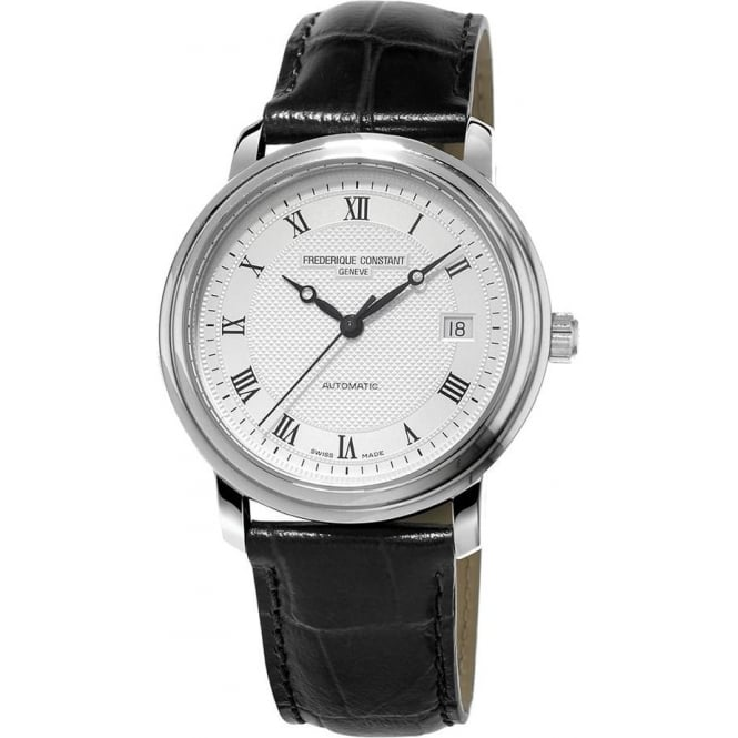 Frederique Constant Classics Automatic Silver Dial Strap Watch