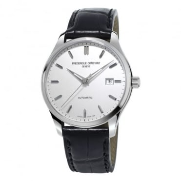 Frederique Constant Classics Index Automatic Silver Dial Strap Watch