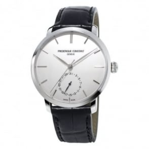 Frederique Constant Manufacture Slimline Automatic Silver Dial Strap Watch