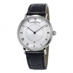 Frederique Constant Slimline Classics Automatic Silver Dial Strap Watch