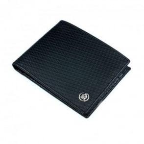 Dunhill Gentlemen's Micro D-Eight Wallet in Black Leather