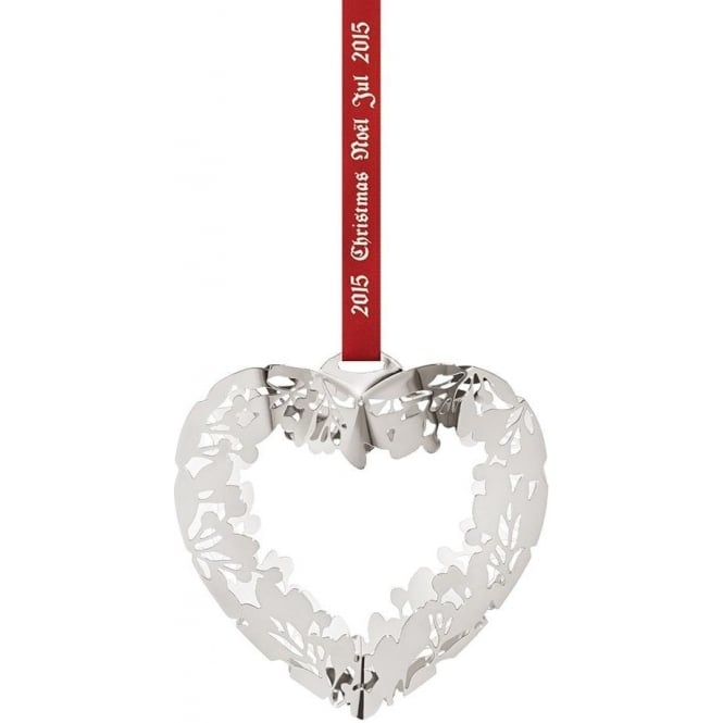 Georg Jensen Christmas Collectibles Mobile Palladium Plated Heart