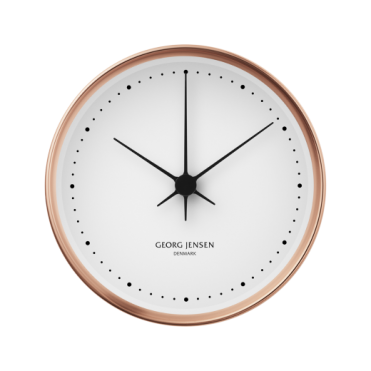 Georg Jensen Henning Copper Wall Clock- 10cm