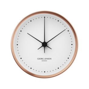 Georg Jensen Koppel 22cm Wall Clock - Copper with White Dial