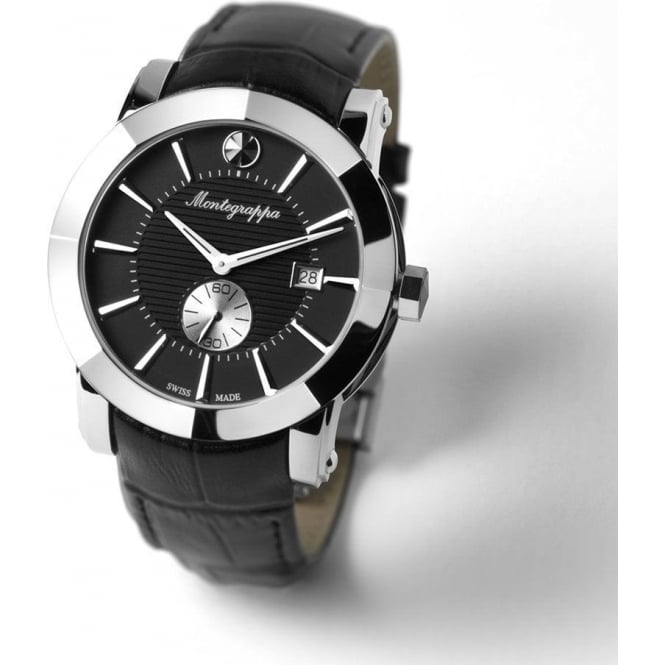 NeroUno Black Dial Strap Watch