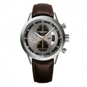 Raymond Weil Freelancer Titanium Automatic Chronograph Grey Dial Strap Watch