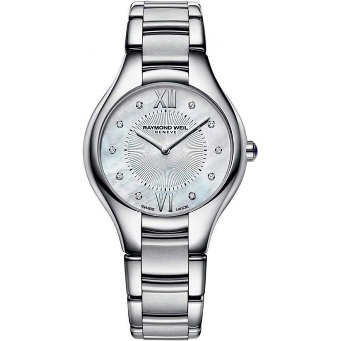 Raymond Weil Ladies Noemia Diamond Dot / Mother of Pearl Dial Bracelet Watch