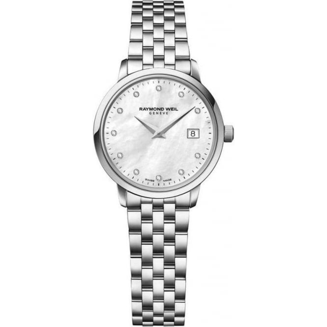 Raymond Weil Ladies Toccata Diamond Dot / Mother of Pearl Dial Bracelet Watch