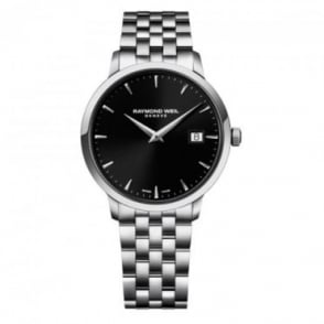 Raymond Weil Toccata 39mm Black Dial Bracelet Watch