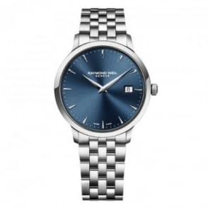 Raymond Weil Toccata 39mm Blue Dial Bracelet Watch