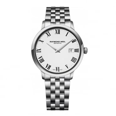 Raymond Weil Toccata 39mm White Dial Bracelet Watch