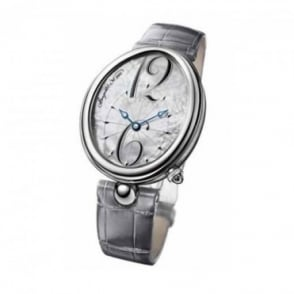 * SPECIAL OFFERS * Breguet Reine De Naples Automatic Mother of Pearl Dial Strap Watch