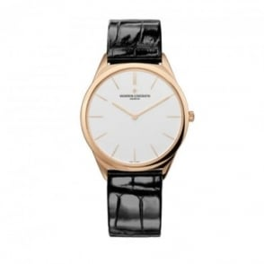 * SPECIAL OFFERS * Vacheron Constantin Historiques Ultra-fine 1955 18K Rose Gold Hand-wound Silver Dial Strap Watch