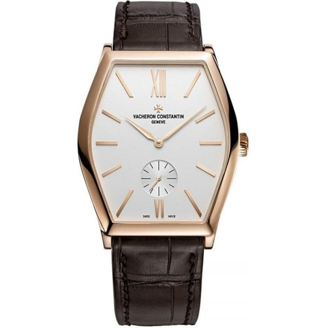 * SPECIAL OFFERS * Vacheron Constantin Malte 18K Rose Gold Hand-wound Silver Dial Strap Watch