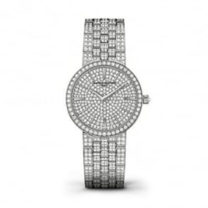 * SPECIAL OFFERS * Vacheron Constantin Traditionnelle 18K White Gold Full Diamond Set / Diamond Dial Bracelet Watch