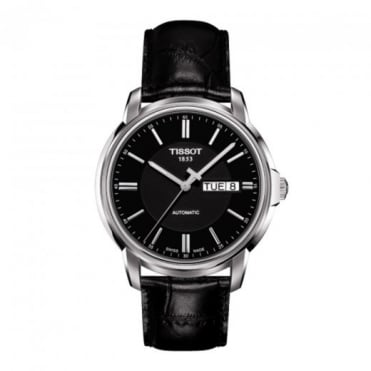 Automatic III Black Dial Strap Watch