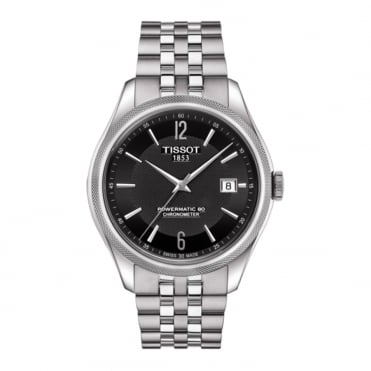 Ballade Powermatic 80 COSC Black Dial Bracelet Watch