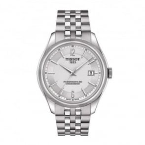 Tissot Ballade Powermatic 80 COSC Silver Dial Bracelet Watch
