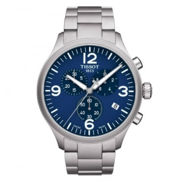 Chrono XL Blue Dial Bracelet Watch