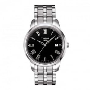 Tissot Men's Classic Dream Black Dial Bracelet Watch