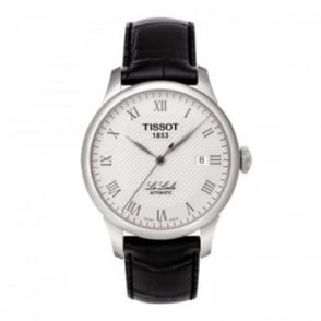 Tissot Men's Le Locle Automatic Silver Dial Strap Watch