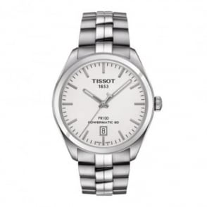 Tissot Men's PR100 Powermatic 80 Silver Dial Bracelet Watch