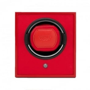 Wolf Designs Cub Lacquered Watch Winder in Red