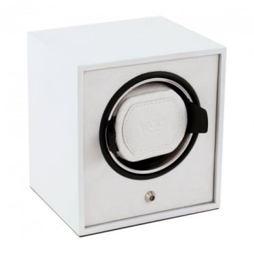 Wolf Designs Cub Lacquered Watch Winder in White